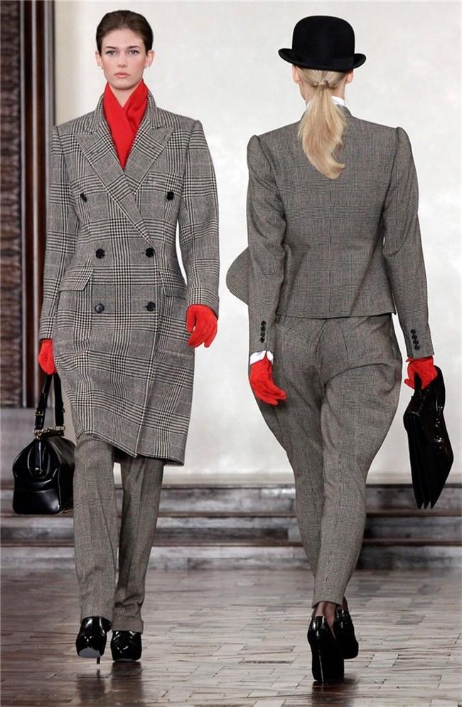 Traje chaqueta mujer principe de gales