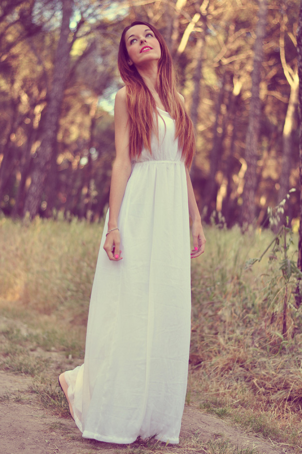 Vestidos blancos para invitada boda ibicenca