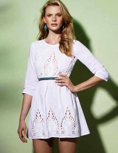 vestido blanco boda ibicenca