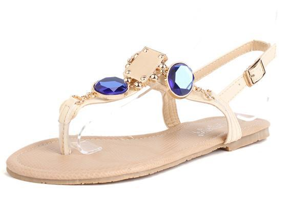 2c5ab48e615242 Wholesale-summer-2013-korean-version-of-the-new- Unze-Flat-Sandals-2013-for-females-7  ...