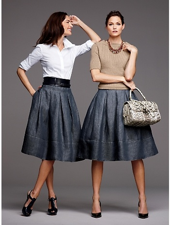 Midi Skirt falda mediana 1