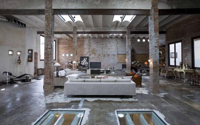Decoracion industrial tienda for Decoracion de casas estilo industrial