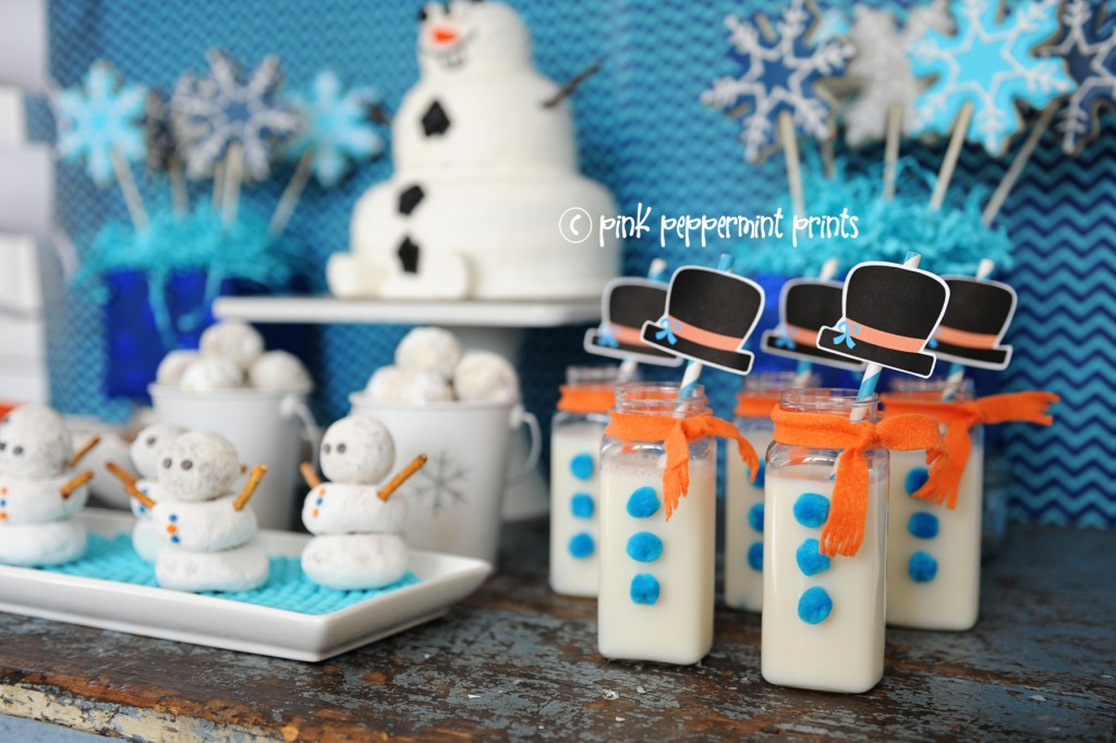 disney,frozen,movie,party,cute,snowman,party,food,