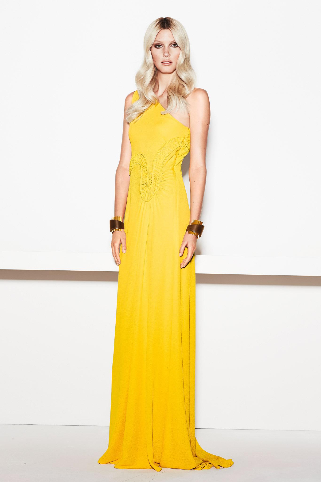Vestidos de fiesta amarillo limon