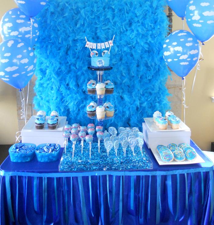 Decoracion Invierno Quince A?os ~ Podemos decantarnos por los tonos azules, de los protagonistas?