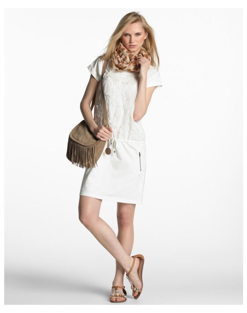 Vestidos blancos sfera