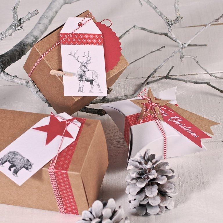Envolver los regalos de navidad moda y todo lo demas - Ideas para envolver regalos navidenos ...