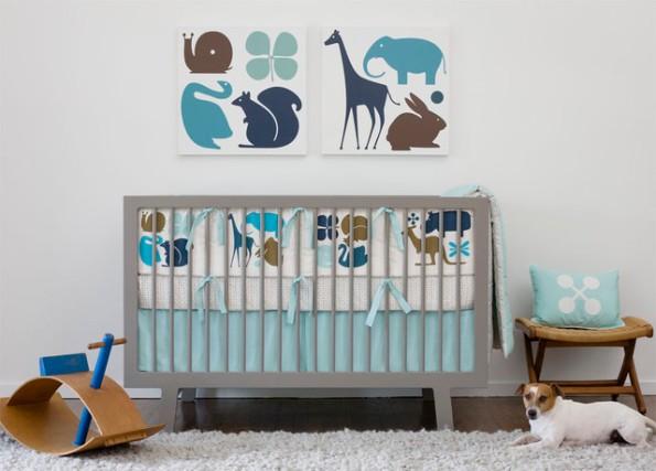amazing-Baby-Crib-Bedding-with-dog