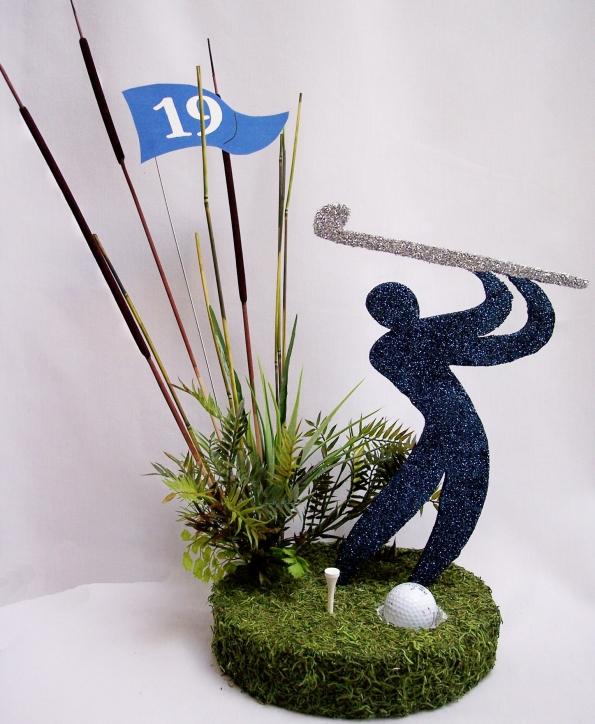 golfer-silhouette-centerpiece